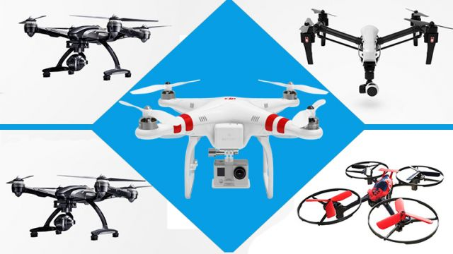 top drones available for aerial photography in India