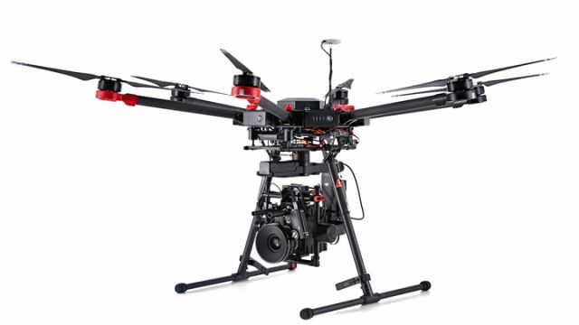 DJI Matrice 600 drone for aerial photography in India