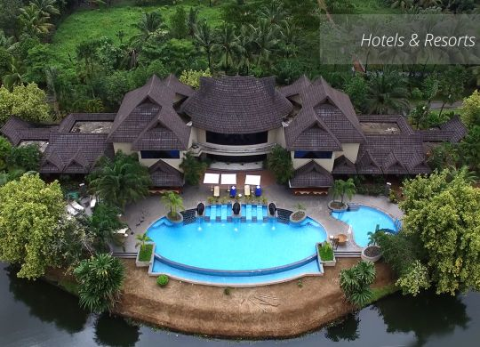 aerial photography and filming services for hotels and resorts in India
