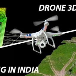 drone mapping and 3d modelling India