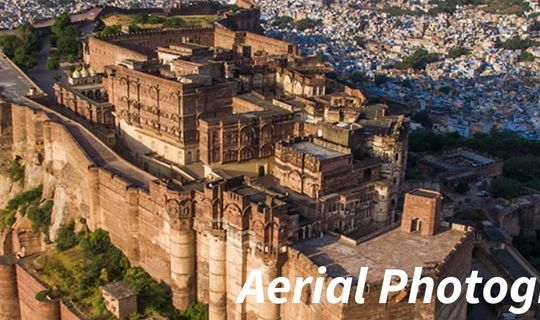 Aerial Photography in Rajasthan 1400 X 320