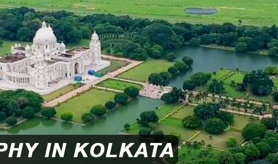 Aerial Photography in Kolkata (1400 X 320)